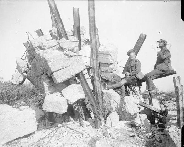 Heninel - smashed German strong point