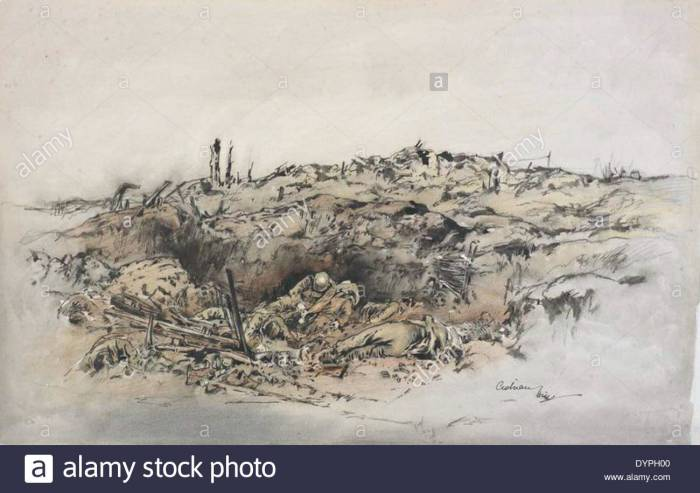 Picture 382 Round 'the Pimple' Towards Miraumont 1917  283