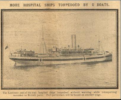 Hospital ships article