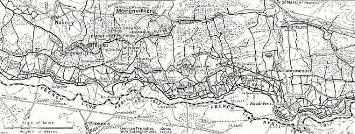 Moronvillers massif April_1917