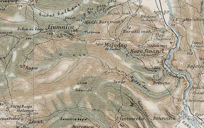 Ljumnica map