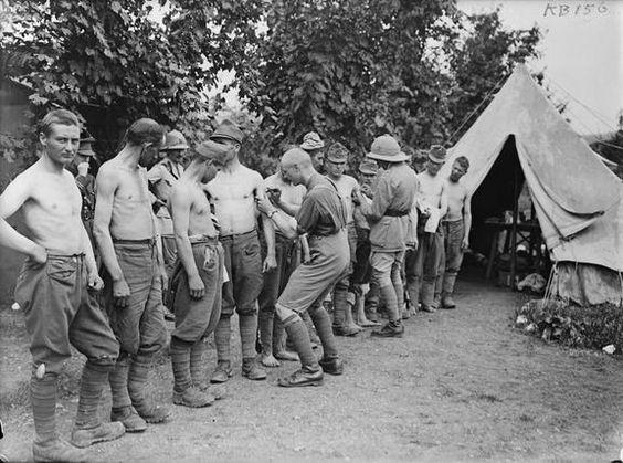 austro hungarian prisoners Italy 1917