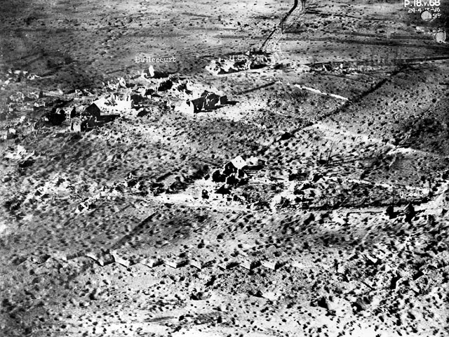 Bullecourt aerial photo