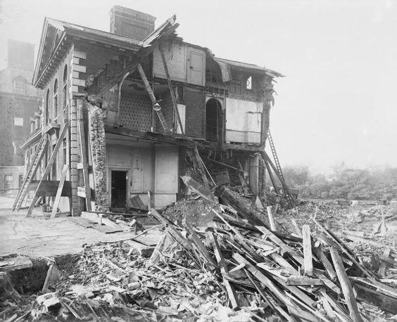 Chelsea hospital destroyed