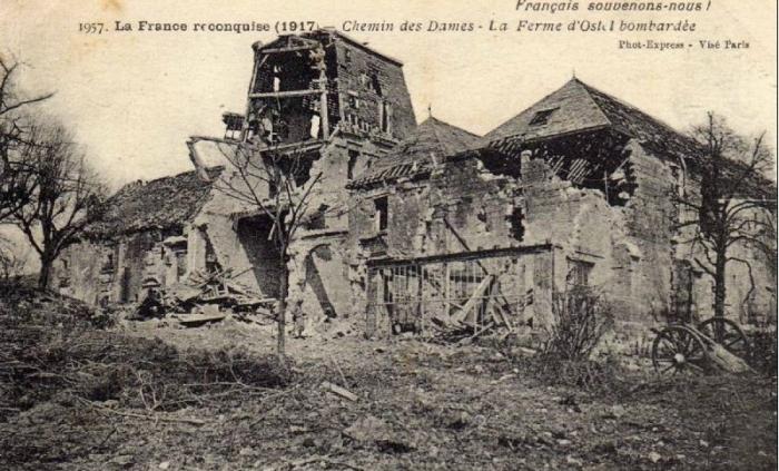 Chemin des Dames june 1917