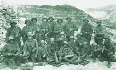 Monte Ortigara austrian defenders
