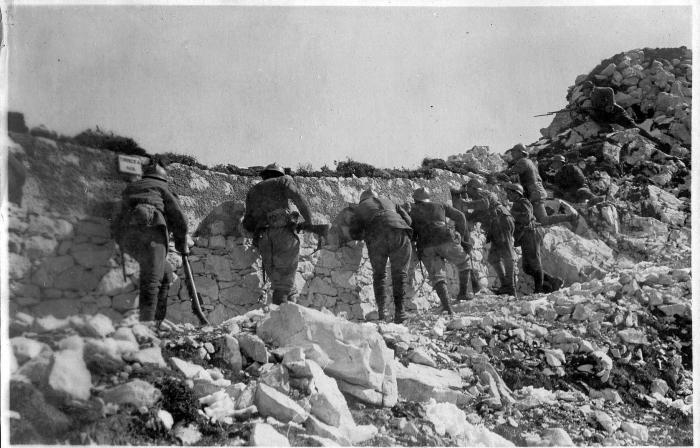 Monte Ortigara june 1917