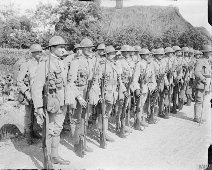 Portuguese infanty Africa June 1917