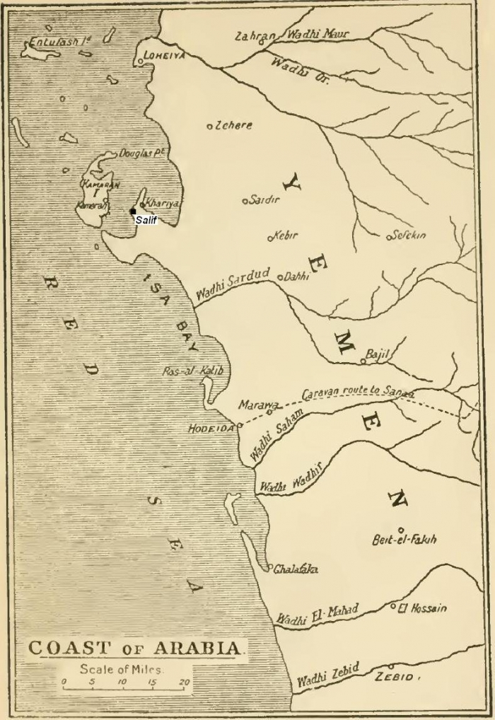 fort of Salif map