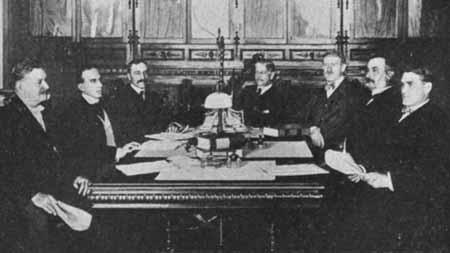 spanish cabinet 1917