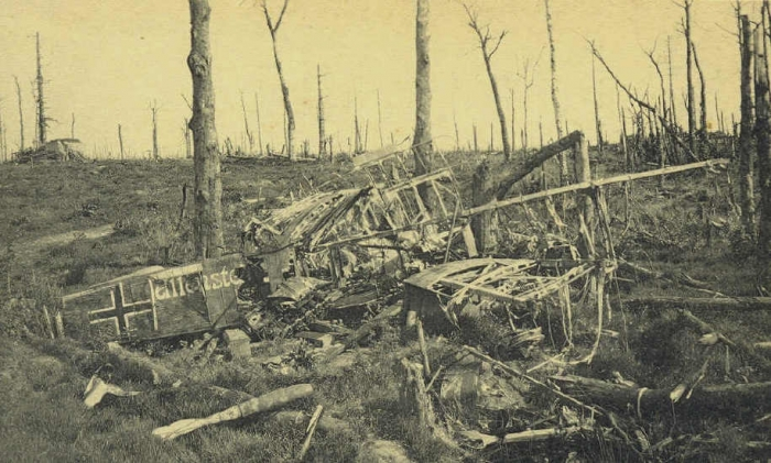 A1 Houthulst forrest 1917