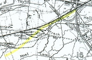 A2 Ypres-Roulers railway map