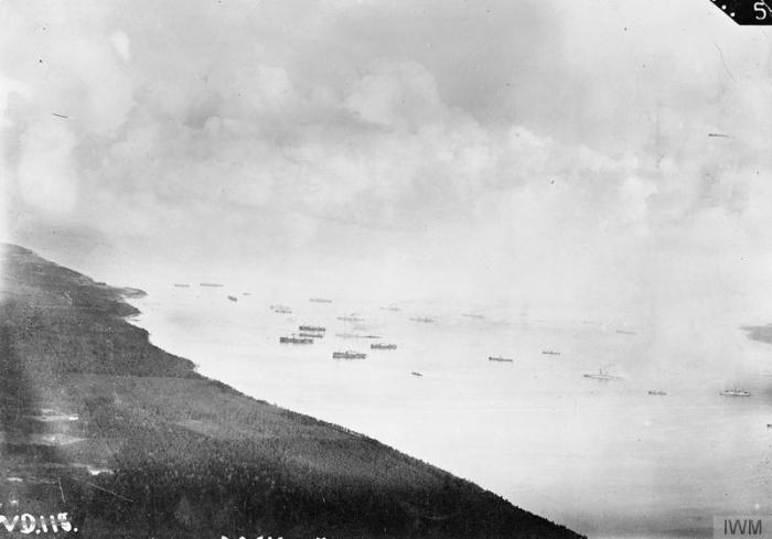 B2 Battle of Moon Sound 4 German fleet at Tagga Bay off Osel main landing Germnas Oct 1917