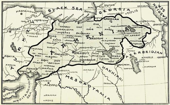 C1 Armenia map