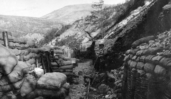 C1 San Gabrielle trenches