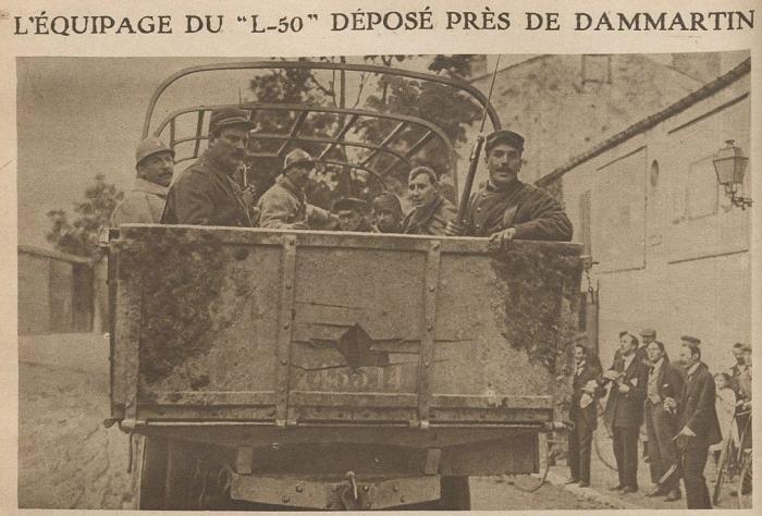 C6 Equipage_capture_du_Zeppelin_L-50_pres_de_Dammartin_en_1917