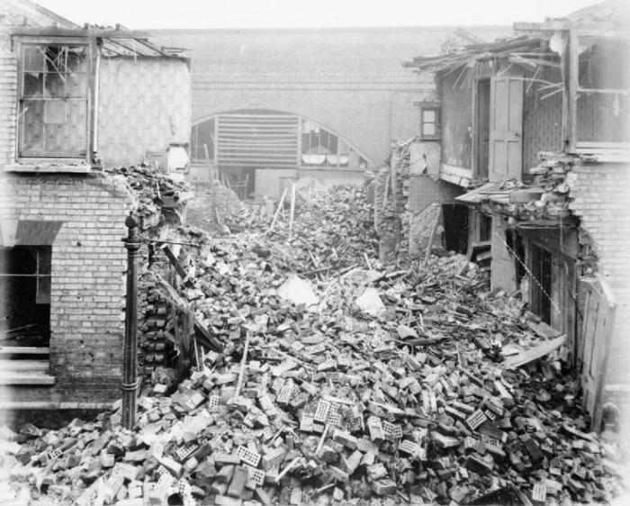 D1 London raid