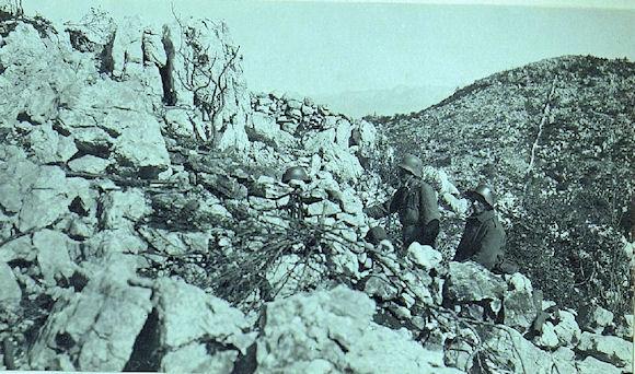 E1 Bainsizza plateau