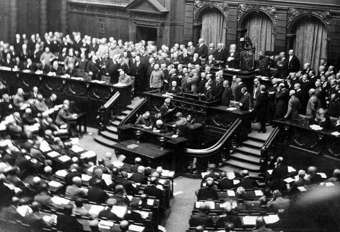 E1 Reichstag 1917