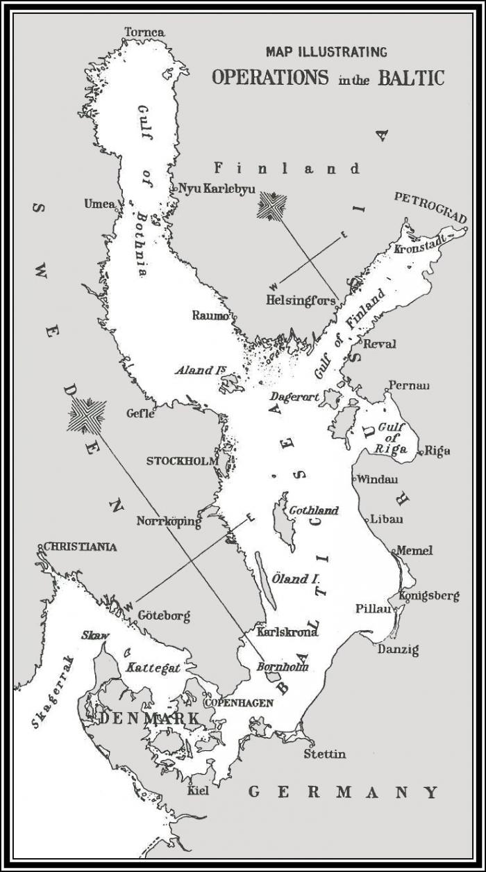 E2 operation Albion map