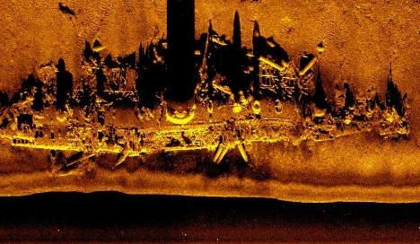 Digital sonar image