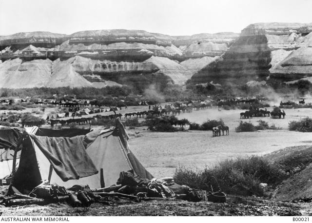 D1 Auja river australian camp