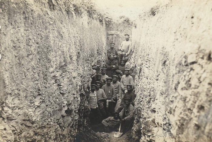 A1 Corbeny transport trench