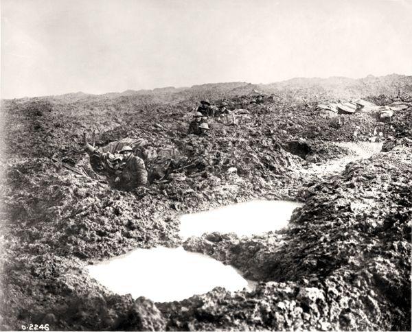 A1 Passchendaele bombardment