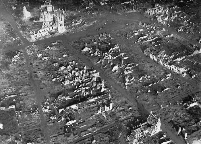 A1 Ypres aerial