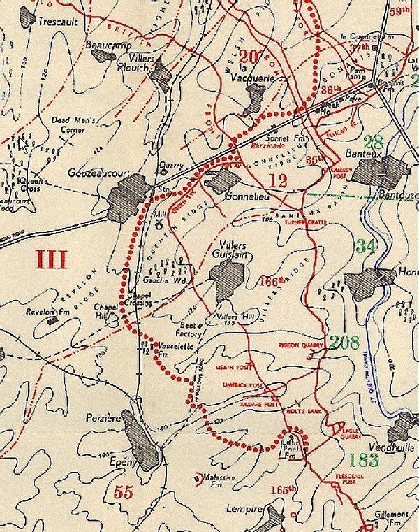 A1 cambrai map