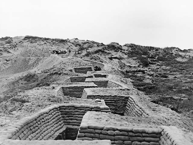 B1 Nieuwpoort trenches