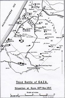 E1 Gaza map