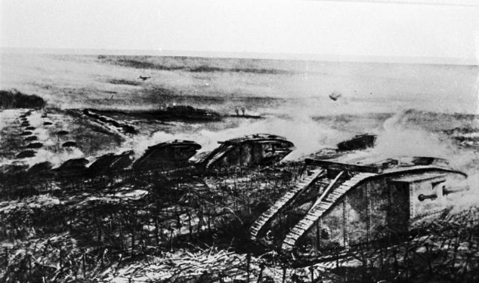 A1 Cambrai tanks