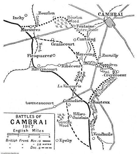 A1 Graincourt map