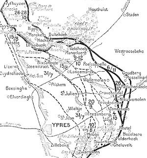 A1 Ypres map