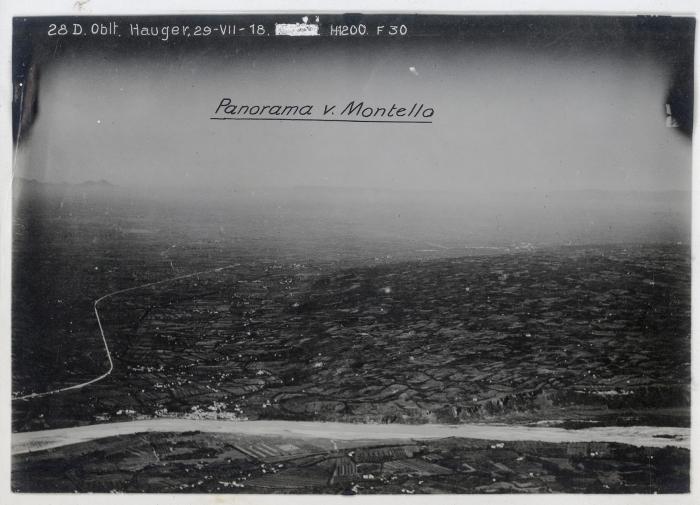 B1 Flik.028 Bild Nr.801-30b,Panorama v. Montello