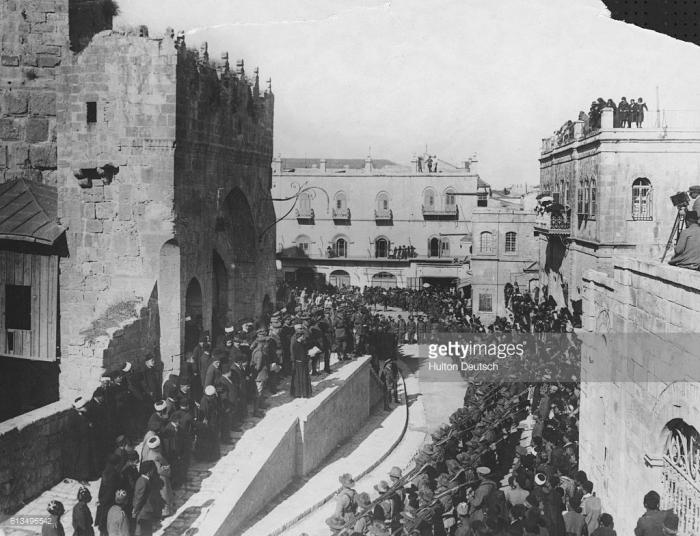 C1 Jerusalem December 1917