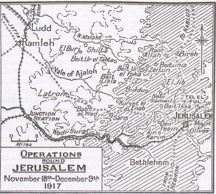 D1 Jerusalem map