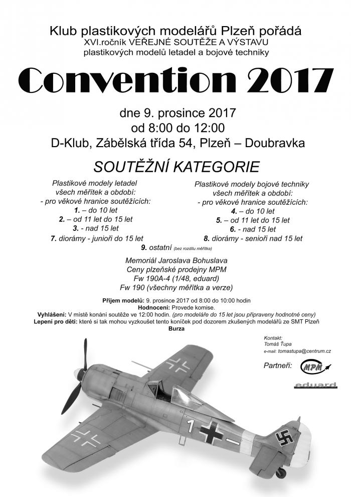 Convention 2017 - Plakát A3