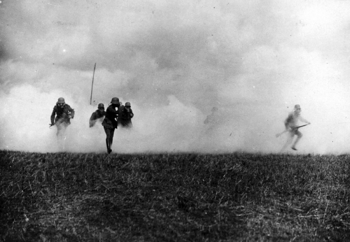 18.7.a German soldiers attacks