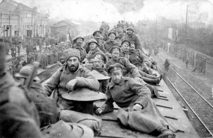 19.9.a russian troops 1917