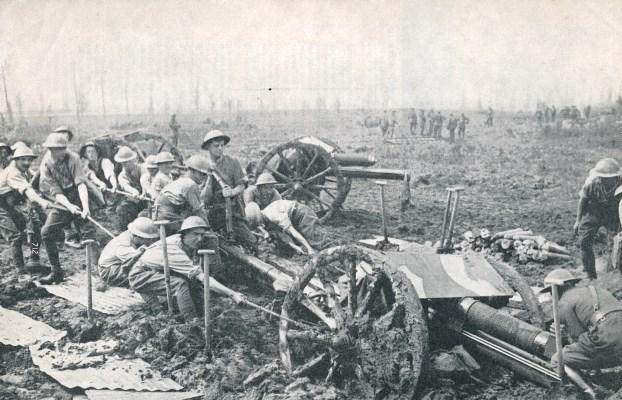 21.7.a 18lb_field_gun_mud_flanders_Battle_of_Passchendaele_1917