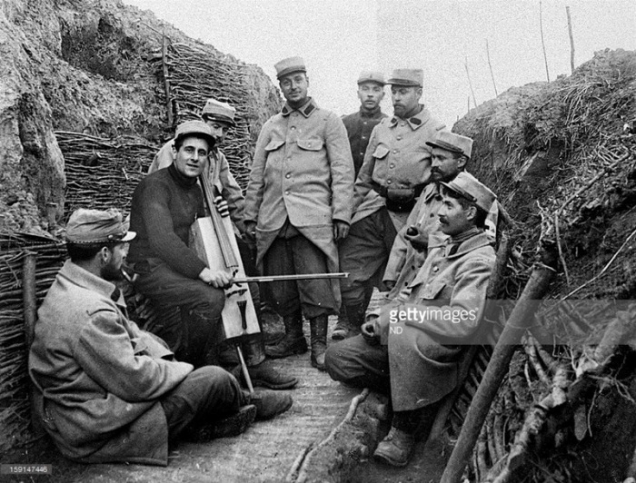 27.7a  french trench