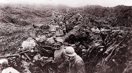 27.7a  french trenches