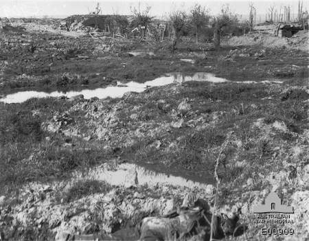 10.8.a Captured German pillboxes in the upper