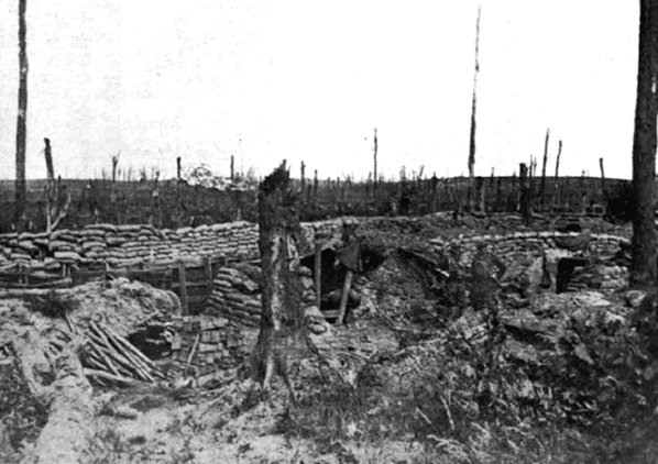 10.8.a Captured German pillboxes