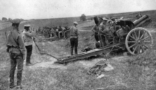 13.7.a Russian artillery bombardment of Galicia