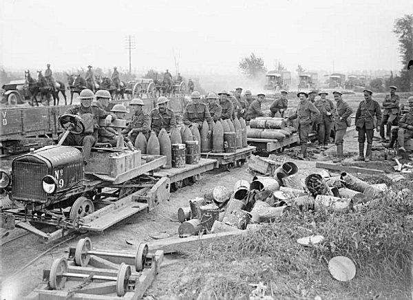 13.9.a A light rail ammunition transport