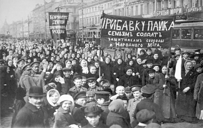 16.7.b demonstration in petersburg 1917