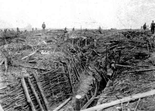 17.7.a German Trenches at Ypres